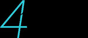 4D sign Logo
