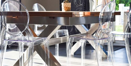 Table Double X Sign - Table d'intérieur - 4D Sign